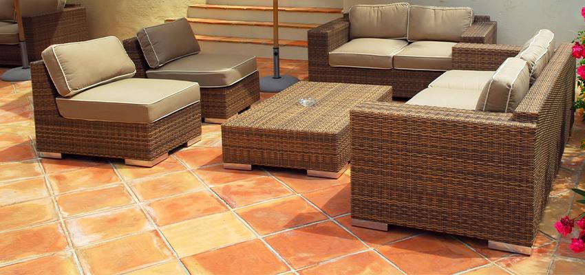 Naturstein Platten Fliesen Terrasse