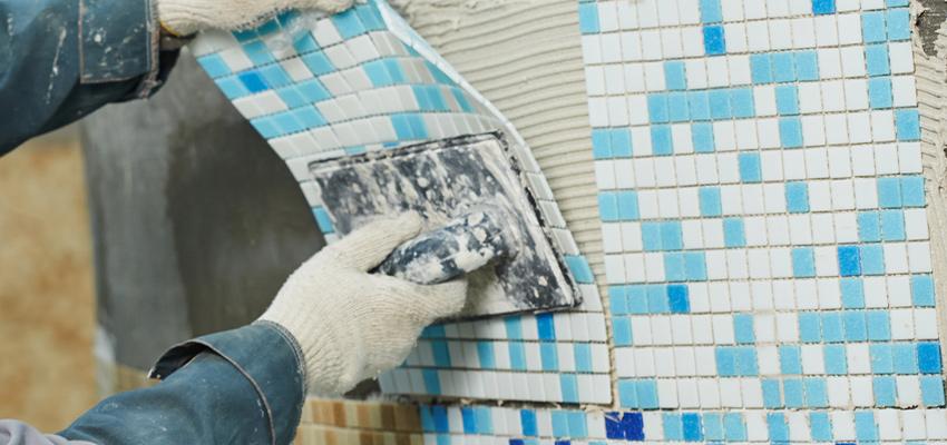 Mosaik Fliesen Mosaikverlegung